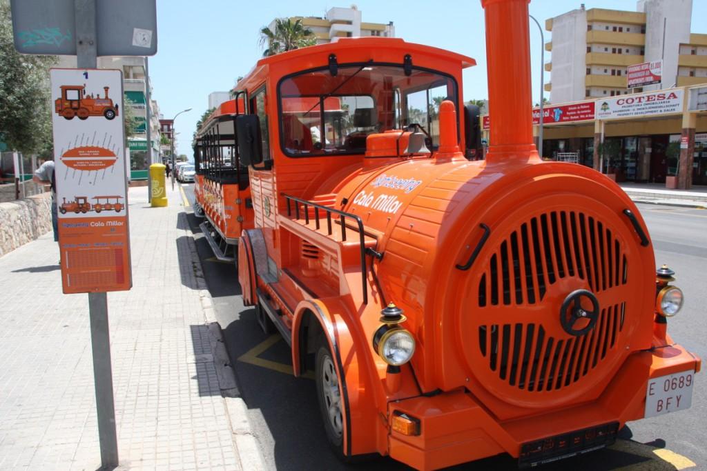 Mini Train Cala MillorCala BonaCosta dels Pins Visit Cala Millor